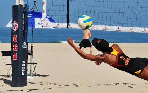 Beach volleyball: thriving college sport
