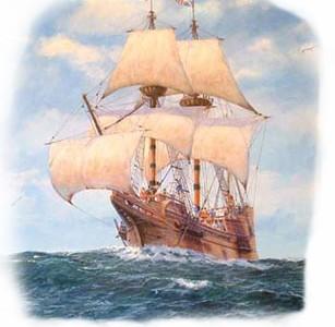December 18: Mayflower docks at Plymouth Harbor