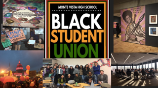 Black Student Union created Black History Month posters that were later ripped off the walls. The club continues to represent student diversity and advocate for student unity.