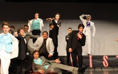The contestants of the 2015 Mr. Mustang contest. Scott Wunsch was the winner.