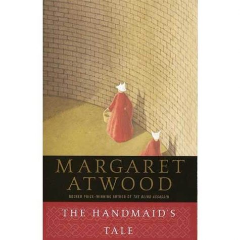 This is the cover of The Handmaid's Tale; a book English teacher, Katherine Olson, is teaching her senior class in order to acknowledge sexual assault in the current world.