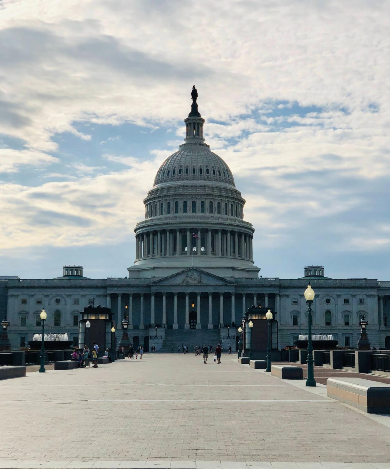 The US Capitol Building sits peacefully on Capitol Hill. In an attempt to disrupt democracy, rioters stormed the building on Jan. 6, 2021.