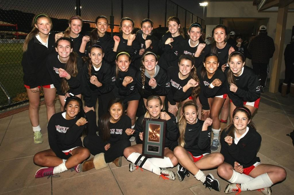 Monte Vista Women's Soccer took place first in the Tri Valley Classic Tournament in December. They beat San Ramon in penalty kicks in the championship game. This was the first time the women's soccer team has ever won this tournament.