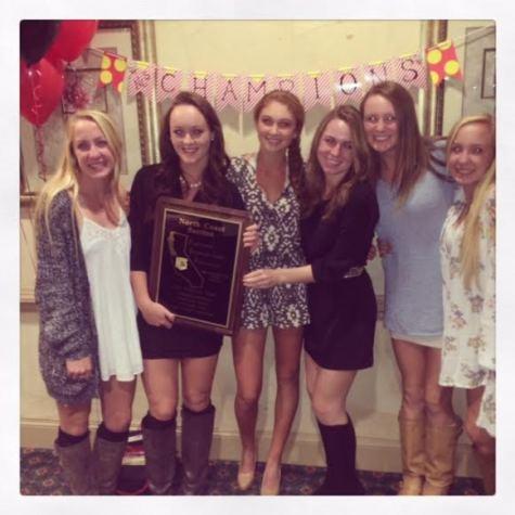Women's varsity tennis takes NCS title
