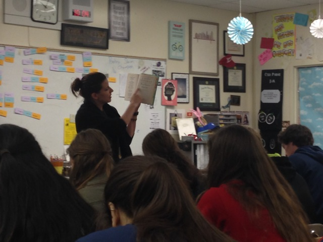 Ms.+Little+discussing+The+Great+Gatsby+with+her+junior+class.+The+Great+Gatsby+is+known+for+being+one+of+the+most+enjoyable+books+read+in+high+school%2C+but+what+about+the+rest%3F%0A