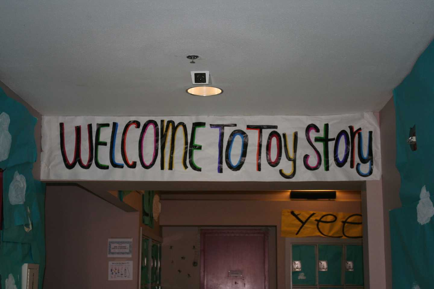 Toy+Story+is+in+the+Language+building%2C+and+welcomes+everyone+for+a+fun+time.