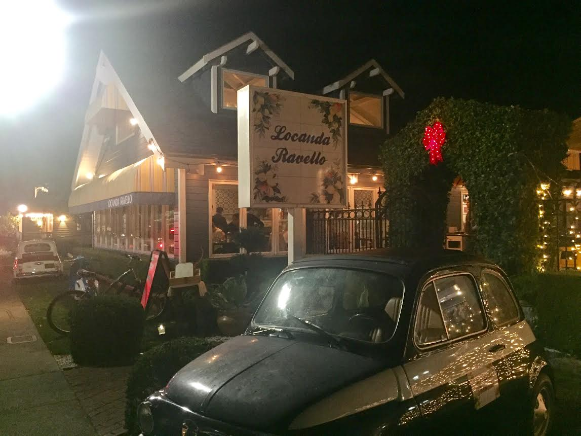Outside Locanda Ravello restaurant, with decor that allows Danville citizens to travel to the heart of Italy.  (Courtesy of Remy Laflamme)