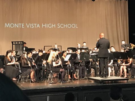 Monte Vista harmonized with local schools at the Area Band Festival