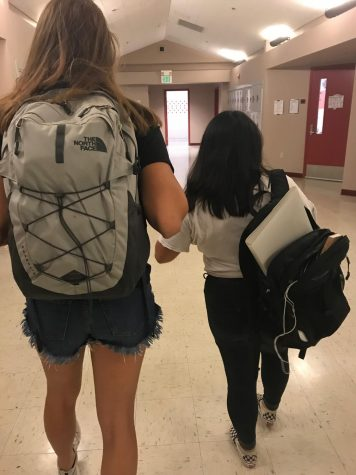 Two Strappin' Backpackin'