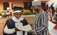 Nigerian exchange student brings educational awareness