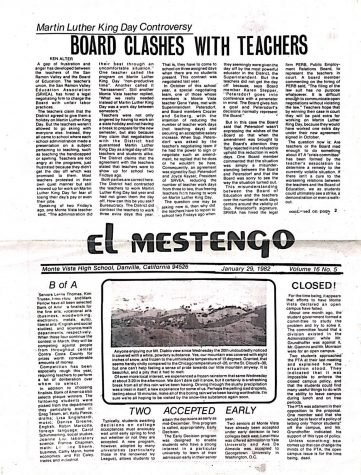 The Jan. 29, 1982 edition of The Stampede