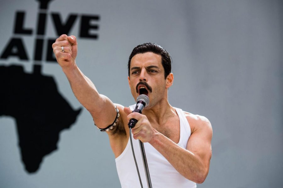 Rami+Malek+headlined+%27Bohemian+Rhapsody%27+as+he+played+Queen%27s+former+lead+singer+Freddie+Mercury.
