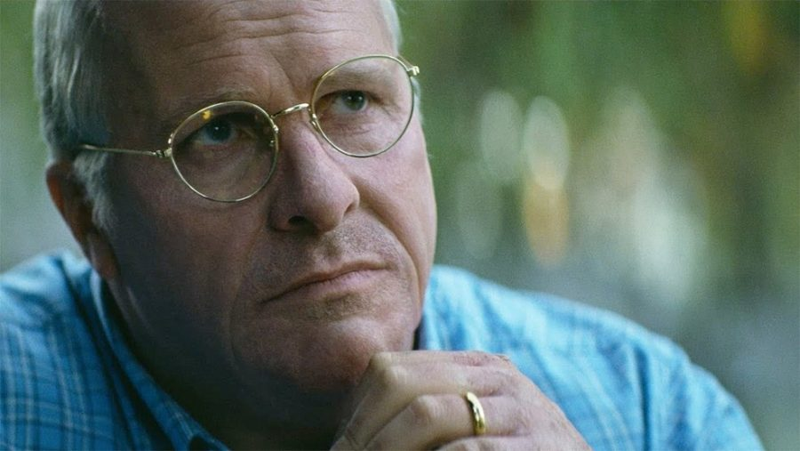Christian Bale played Dick Cheney in VICE, pictured above.