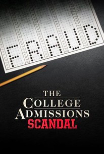 Movie poster for the Lifetime movie The College Admissions Scandal, premiered October 12, 2019.