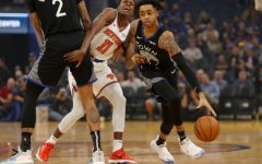 Golden State Warriors guard D'Angelo Russell brings his A-game during December 11ths OT thriller vs New York. The Warriors would go on to lose this game 124-122 in Over-time despite Russells 32 performance